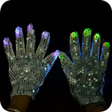 Factory Wholesale Led light up Glove