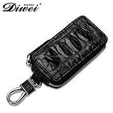 Wholesale Factory Price Luxury Top End Crocodile Key Chain Waterproof Leather Key Case