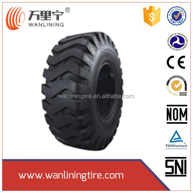 Chinese excellent puncture resistance Bias Loader Tire 17.5-25 With Competitive Price