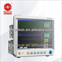 touch screen with six-parameter patient monitor X5
