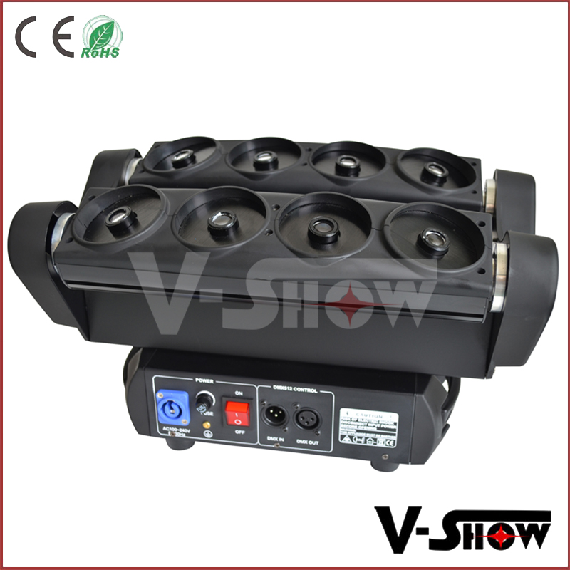 Alibaba moving head laser light /christmas lighting moving spider lighting /stage decoration moving laser lighting