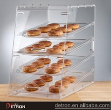 3 tiers clear acrylic bracelet display stand