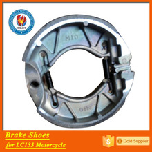 China quality LC135 brake shoes main parts of motorcycle