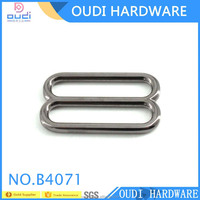 2016 Wholesale Strap Slider Metal Buckles For Bag Making Accessories Adjuster Buckles