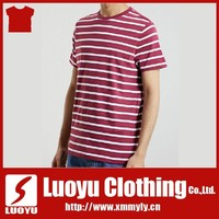 red and white stripe t shirt