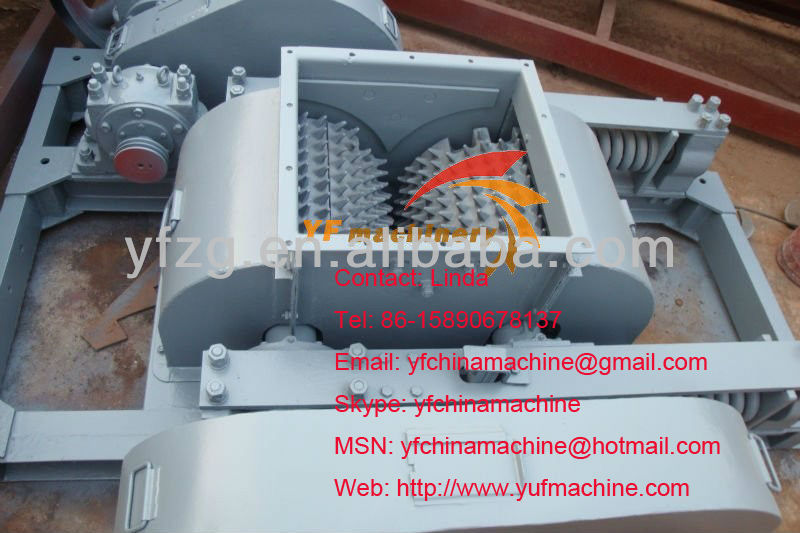 Russia widely used Industrial Double Roller Crusher,Roll Crusher,Construction Equipment