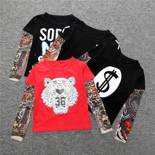 Online Shopping Wholesale Clothing <strong>Boy's</strong> Long Sleeves <strong>T-Shirts</strong>