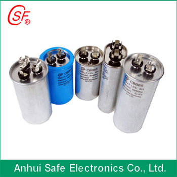 40MF 50MF 70MF 80MF 100MF Metalized polypropylene film ac capacitor cbb65