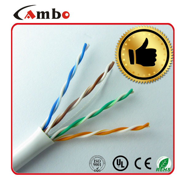 China Supplier 1000ft utp cat5e jelly filled outdoor cable