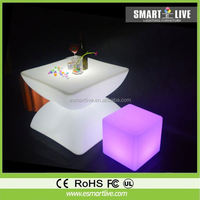 Masterpiece design lighting luxury Krion Solid Surface led Bar Counter