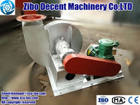 Customized turbine blower for biogas purification and transfer system
