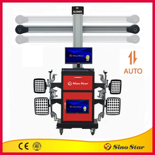 Best selling 3D wheel alignment /wheel balancing and wheel alignment machine/ high accuracy car repair equipment for sale