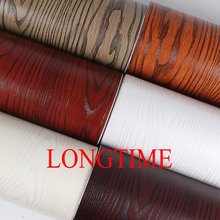 wood grain vinyl films/self adhesive decorative paper for furniture