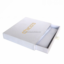 Fancy custom cardboard sliding drawer gift packaging box