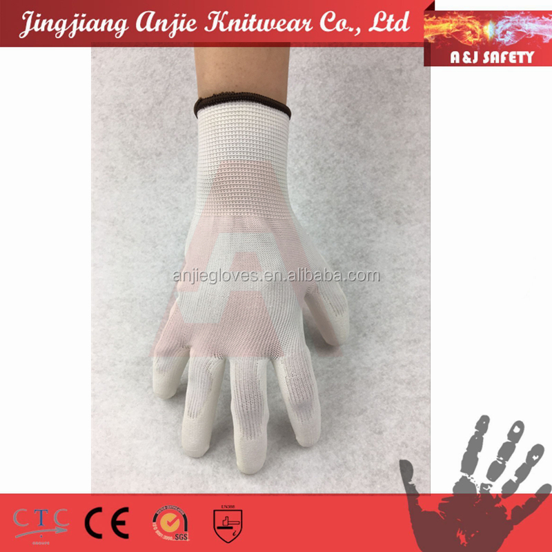 A&J En388 4131 anti static polyurethane dipped first industrial Gloves