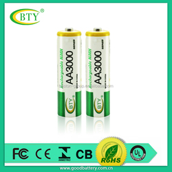 High performance R6 AA 1.5V Dry Battery With PVC Jacket aa lithium battery 3.6v