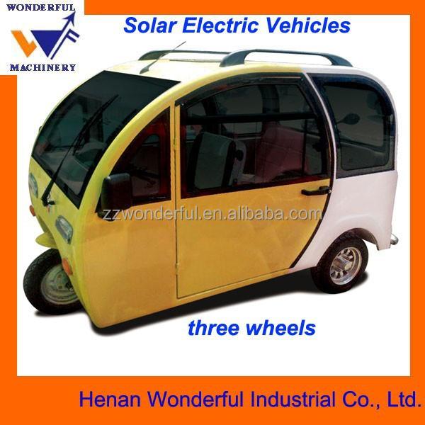 3 roues v lo lectrique pour passagers avec panneau solaire tricycle id de produit 60114214304. Black Bedroom Furniture Sets. Home Design Ideas