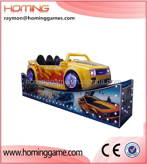 Flying car/Indoor and outdoor flying and rotating car rides mini flying car rides on the track