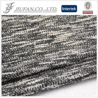 Jiufan textile cotton polyester woman wear fabric polyester wholesale athletic wear fabric