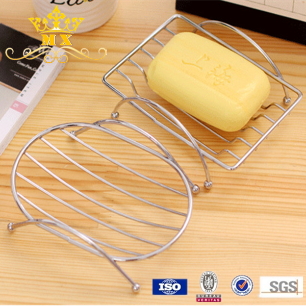 Creative hollow out metal bar soap tin box