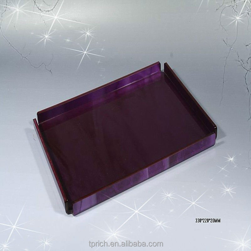 Wholesale black serving tray with manufacturer price