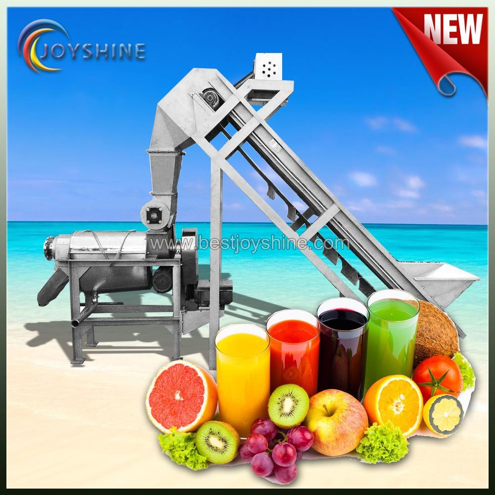 fruit and vegetable squeezing industrial juicer extractor machine