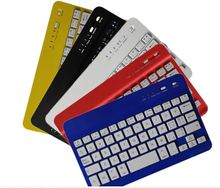 Hot black color mini bluetooth keyboard for 5 inch andriod tablet