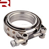"For turbo 2.5"" Stainless Steel Flange Clamp Universal V Band Clamp"