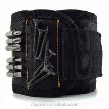 SUPER STRONG Magnetic Wristband, Holds Small Metal Tools, Screws, Nails, Bolts Tightly While Working. Embedded