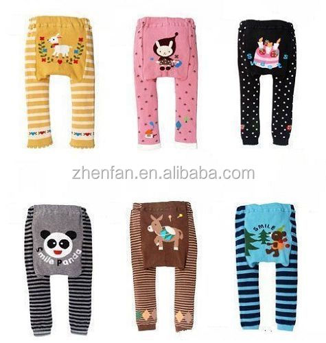 printed children cotton pants