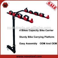 F71504 Manufacturer Customized Quick Mounting Hitch Mount Bike Rack For Cars