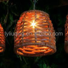 decorate fancy basket in china large wood lantern