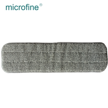 Cheap price magnetic cleaning tool polyester microfiber flat mop refill pad
