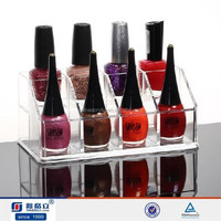8-Hole Lipstick Cosmetic organizer makeup Display Box Acrylic Clear Case,acrylic desk organizer
