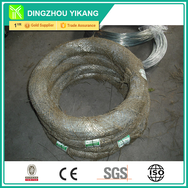 cheap hot- dipped galvanized binding iron wire for constructional usage