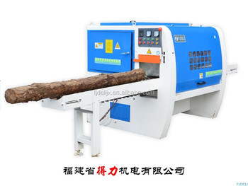 MJ-Y8-260-XB Log Multi Blade Saw Machine ,sawing log