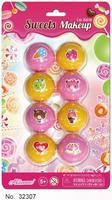 Wholesale Multi-colored Natural Ingredients Candy 8 Colors Ball Shape Moisturizing Lip Balm
