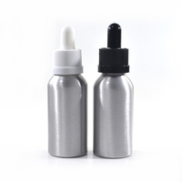 Chengjin Hot sale e liquid essential oil 30ml 50ml 60ml aluminum dropper bottle
