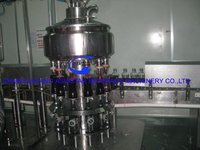 2000BPH glass botted juice hot filling machine