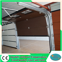 Commercial high quality canvas finger protection sectional garage door