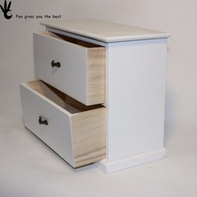 Factory Directly Provide Good Quality wood storage price of makeup kit box