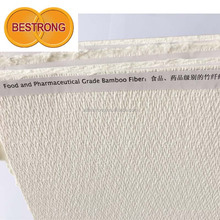 Food and Pharmaceutical Grade Bamboo Fiber
