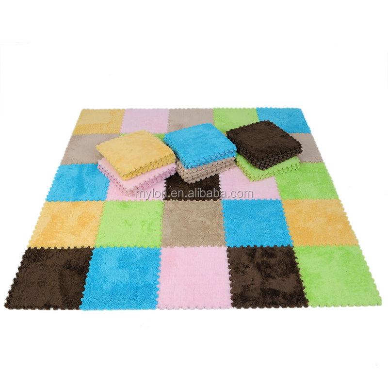 Eco Soft Foam Tile Interlocking Kids Play Puzzle Eva Floor