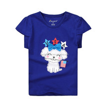 Wholesale custom t shirts t shirt kids models fancy kids t-shirt