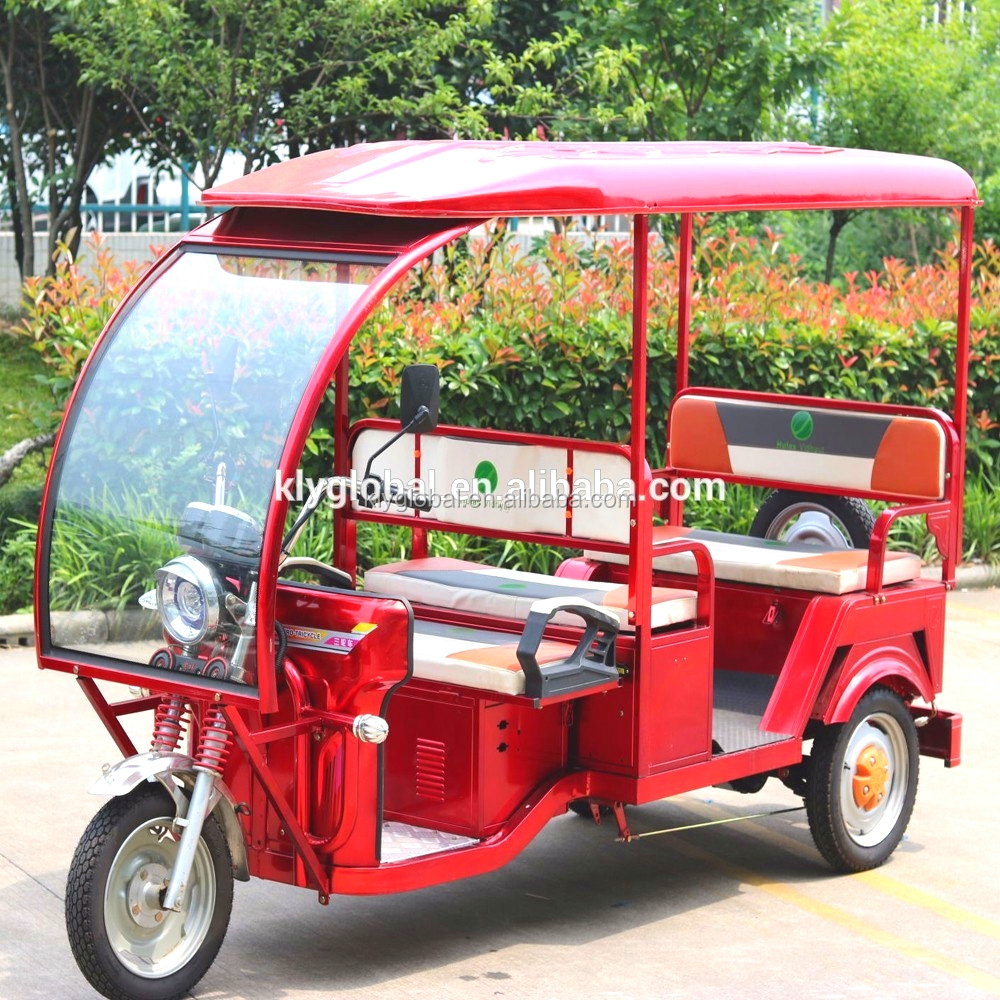 Fashionable customized electric rickshaw and open-styled 3 wheel car for sale tuk tuk for sale in usa