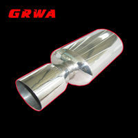 Stainless Steel Exhaust Muffler For Car