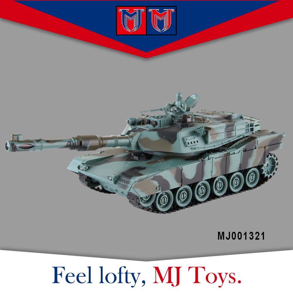 2.4G plastic car tank model kits, rc mini tank model with infrared against