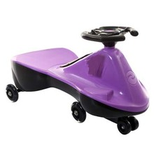 Swing Car Twist Car for Children with PU Mute Wheels and Flash