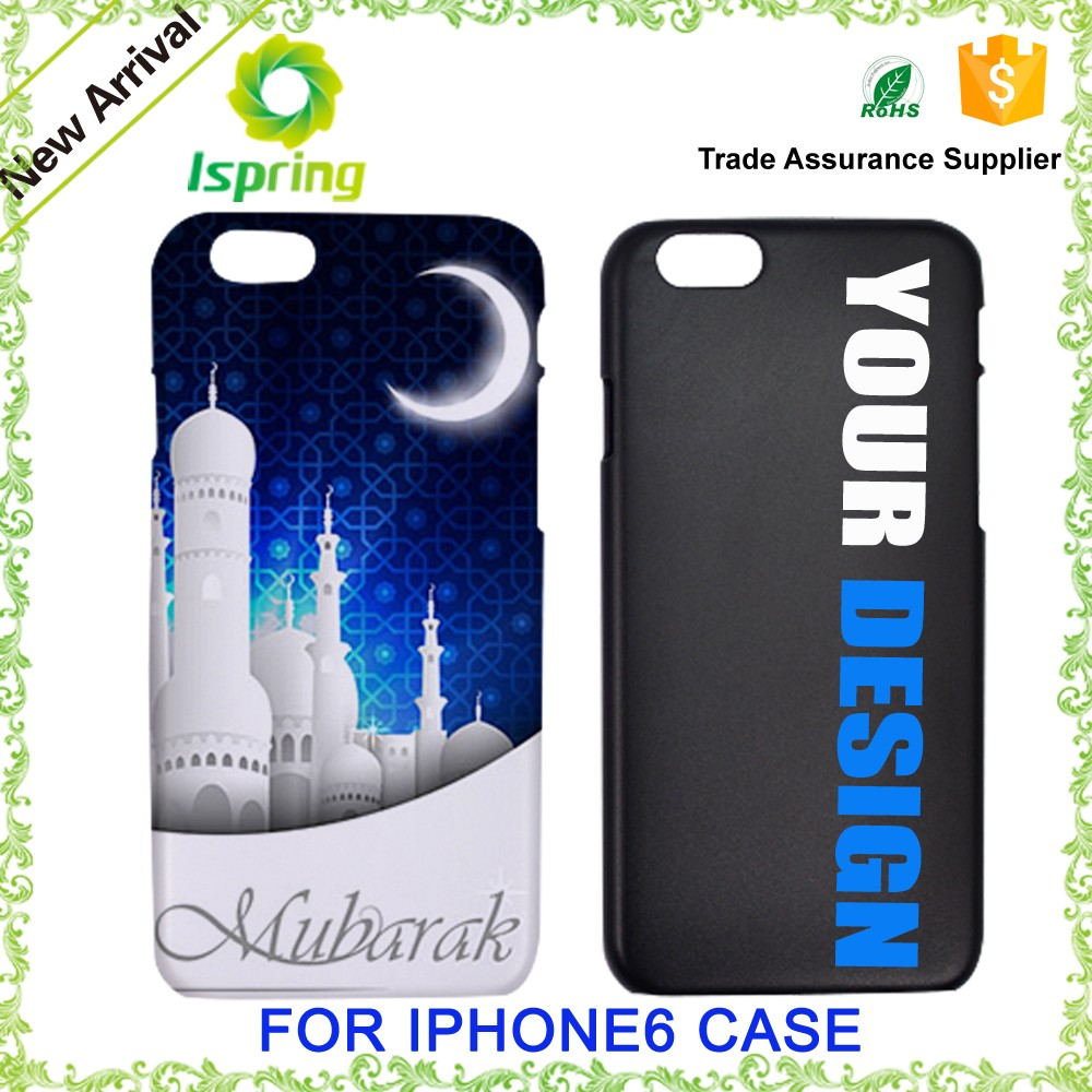 Custom own design printed cell phone cover, 3d printing logo for iphone 6/6s