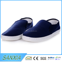 Canvas upper pu sole facrory shoes casual men shoes